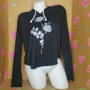 AE Soft & Sexy Long Sleeve Hoodie T Shirt Size M